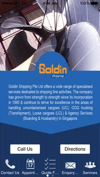 Goldin Shipping poster