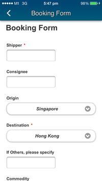 Goldin Shipping apk screenshot