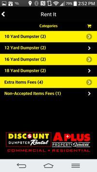 Discount Dumpster Rental apk screenshot