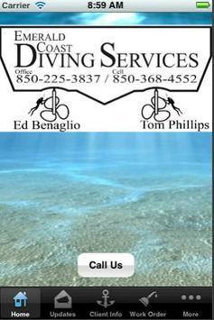 Emerald Coast Diving Services poster