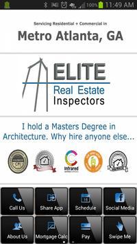 Elite Real Estate Inspectors poster