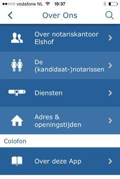 Notaris Elshof apk screenshot