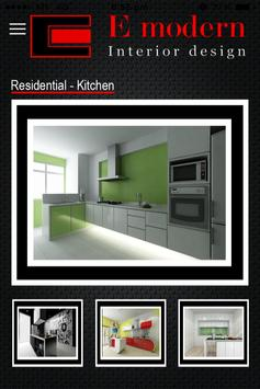 E Modern Interior Design apk screenshot