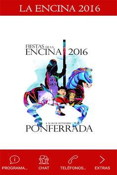 La Encina 2016, Ponferrada. poster