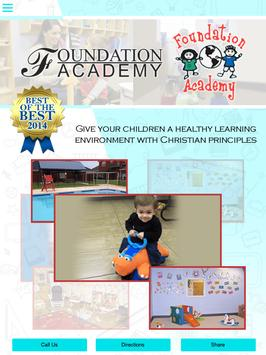 Foundation Academy poster