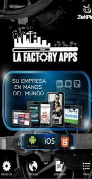 La Factory Apps poster