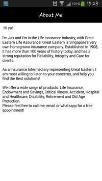 Jax Ong Life Insurance apk screenshot