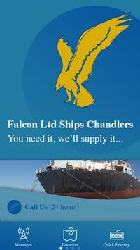 FALCON LTD SHIPS CHANDLERS poster
