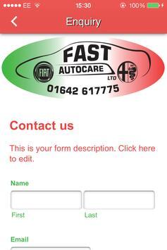FAST Autocare apk screenshot
