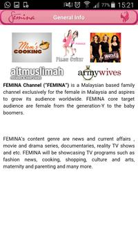 FeminaTV apk screenshot