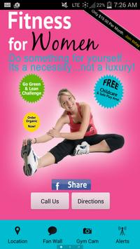 Fitness For Women Gym poster