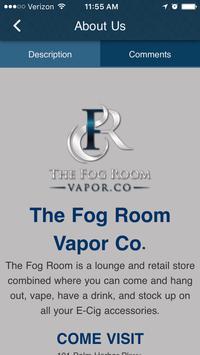 The Fog Room apk screenshot