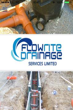 Flowrite Drainage Service poster