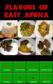 Flavors of East Africa poster
