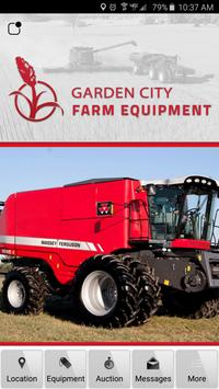 Garden City Farm Equipment poster