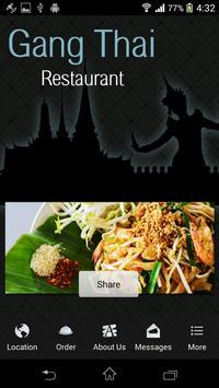 Gang Thai Restaurant poster