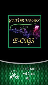 Gator Vapes poster