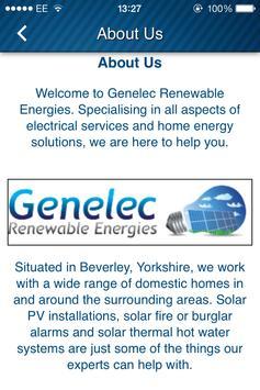 Genelec Renewable Energies apk screenshot