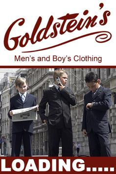 Goldsteins Clothing poster