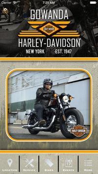Gowanda Harley-Davidson® poster