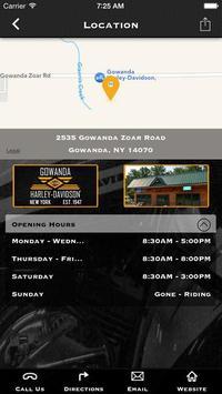 Gowanda Harley-Davidson® apk screenshot