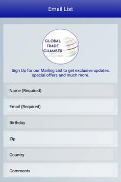 Global Trade Chamber apk screenshot