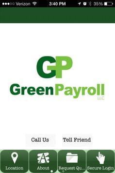 Green Payroll Inc. poster