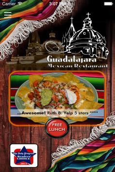 Guadalajara Authentic Mexican poster