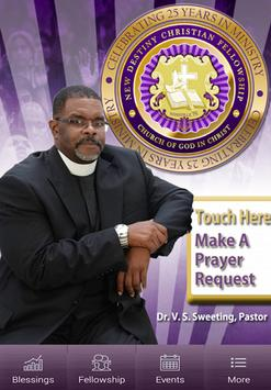 Greater United Life COGIC poster