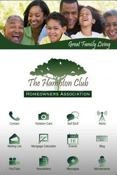 Hampton Club Condo poster