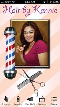 Hair By Kennie, Hairk poster