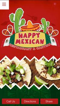 Happy Mexican poster