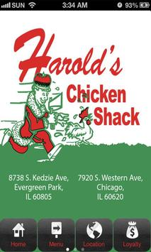 Harold's Chicken Chicago poster