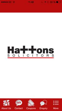 Hattons Solicitors poster