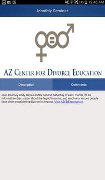AZ Divorce apk screenshot