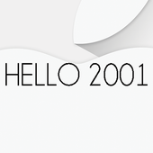 Hello 2001 icon