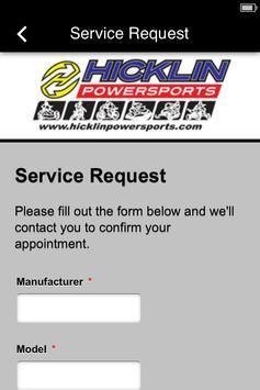 Hicklin Power Sports apk screenshot
