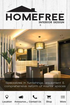 Home Free Interior Design poster