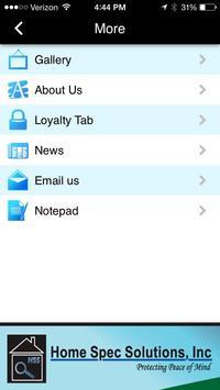 Home Spec Solutions apk screenshot