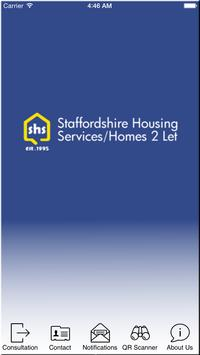 Staffordshire Housing Services poster