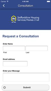 Staffordshire Housing Services apk screenshot