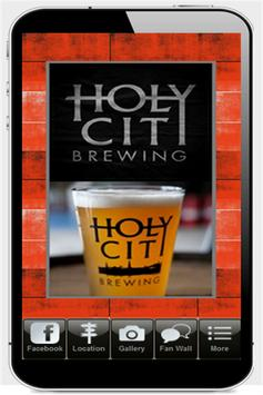 Holy City Brewing poster