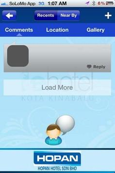 Hopan Hotels apk screenshot