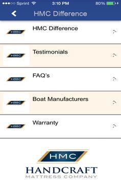 Handcraft Mattress Company apk screenshot