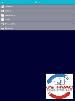 J's HVAC Unlimited apk screenshot
