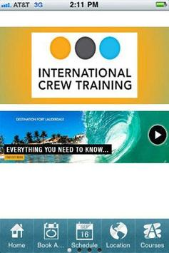 International Crew TrainingOLD poster