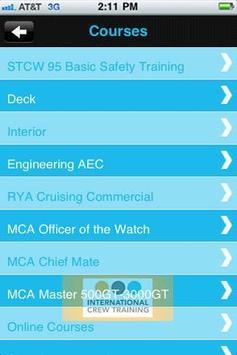 International Crew TrainingOLD apk screenshot