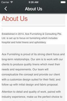 Ace Furnishing & Consulation apk screenshot