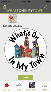 What's On In My Town poster