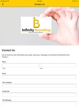 Infinity Branding apk screenshot